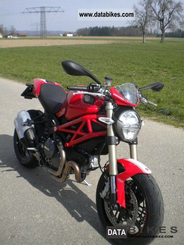 2012 Ducati  Monster 1100 Evo Motorcycle Naked Bike photo