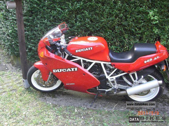 1991 Ducati  ss Motorcycle Sports/Super Sports Bike photo