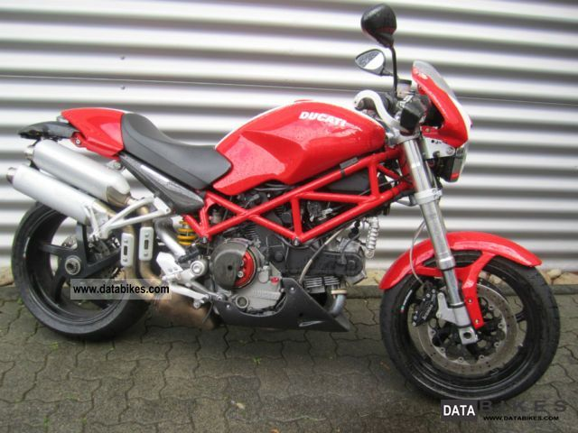 2008 Ducati  Monster S2 R 1000 Motorcycle Naked Bike photo