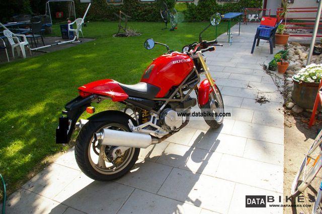1996 Ducati  Monster M600 Motorcycle Naked Bike photo