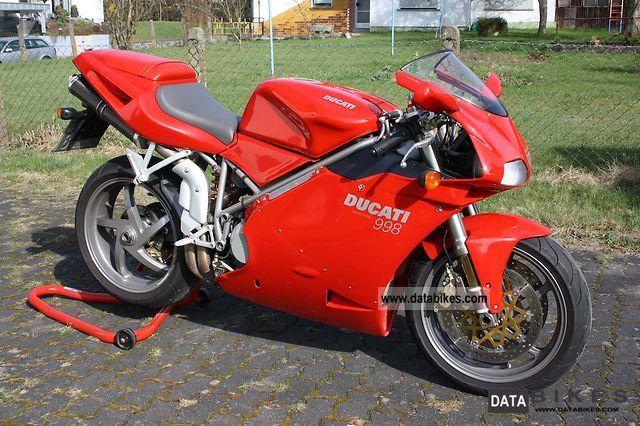 2005 Ducati  998 Motorcycle Racing photo