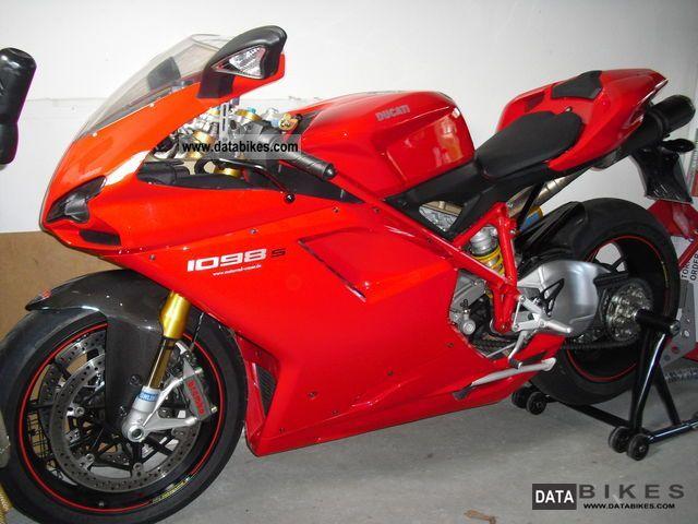 Ducati  1098S, top condition, low kilometers 2007 Sports/Super Sports Bike photo