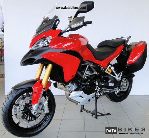 2011 Ducati  Multistrada 1200 S Touring ABS Motorcycle Enduro/Touring Enduro photo