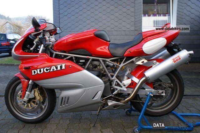Ducati  900 SS ie 2001 Sports/Super Sports Bike photo