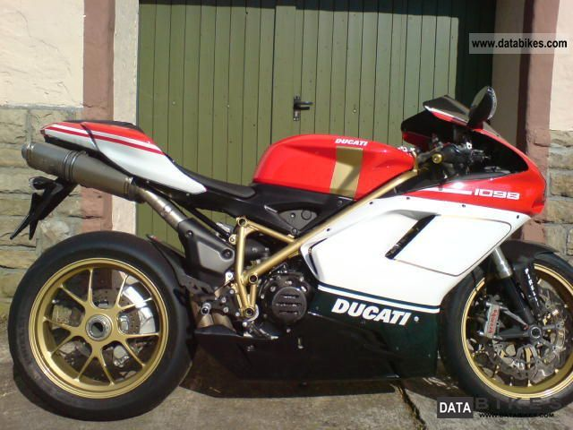 2008 Ducati  1098 S Tricolore with many components Motorcycle Sports/Super Sports Bike photo
