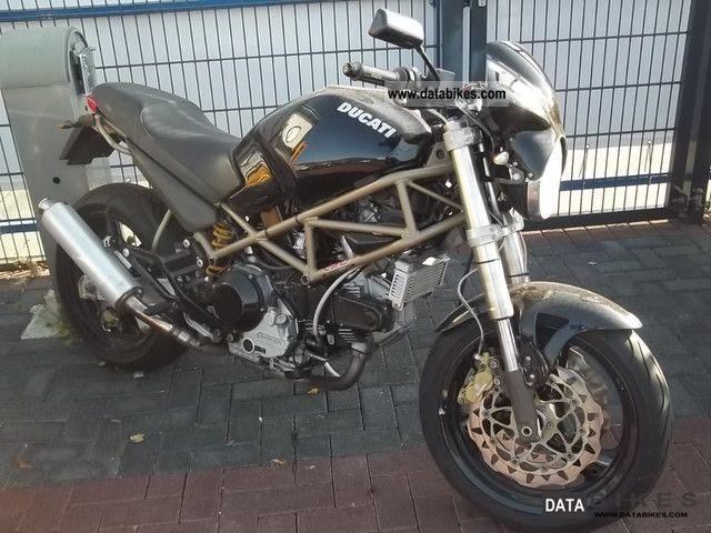 1998 Ducati  Monster M 900 Motorcycle Naked Bike photo