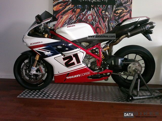 2009 Ducati  1098 R Troy Bayliss Motorcycle Motorcycle photo