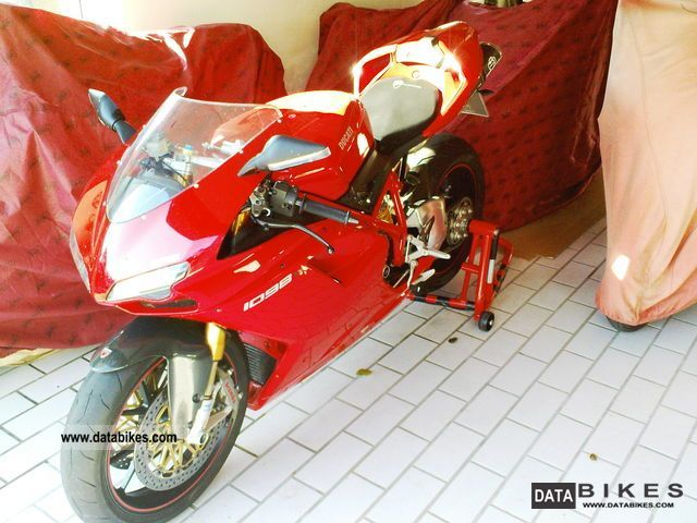 2008 Ducati  1098S Termignoni Motorcycle Sports/Super Sports Bike photo