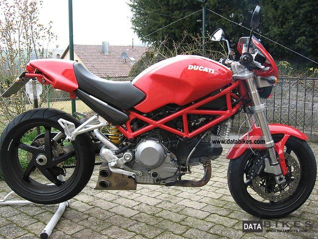 2008 Ducati  Monster S2R 1000 Motorcycle Naked Bike photo