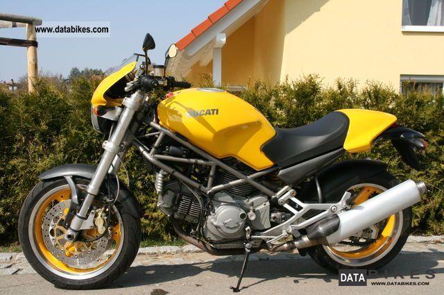 2001 Ducati  Monster 900 S.i.e Motorcycle Naked Bike photo