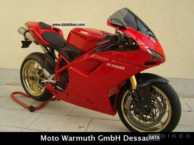 2008 Ducati  1098 World Superbike Motorcycle Sports/Super Sports Bike photo