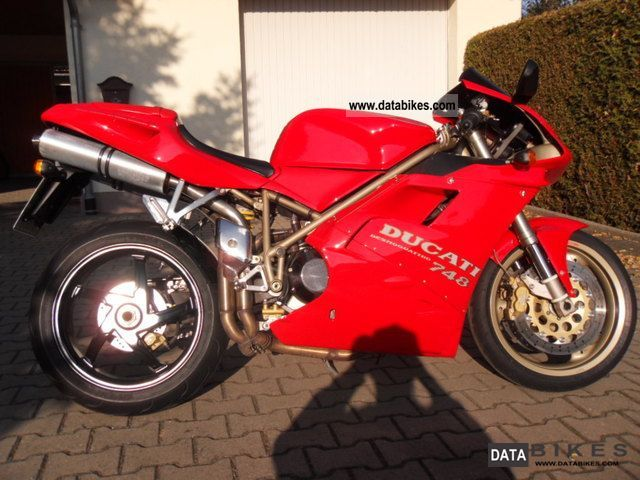 Ducati  748S 1997 Sports/Super Sports Bike photo