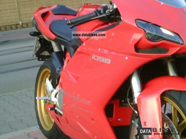 2007 Ducati  1098 Unicat CATCHER Motorcycle Sports/Super Sports Bike photo