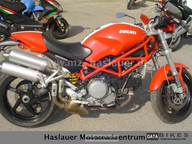 2007 Ducati  S2R Monster 800 Motorcycle Naked Bike photo