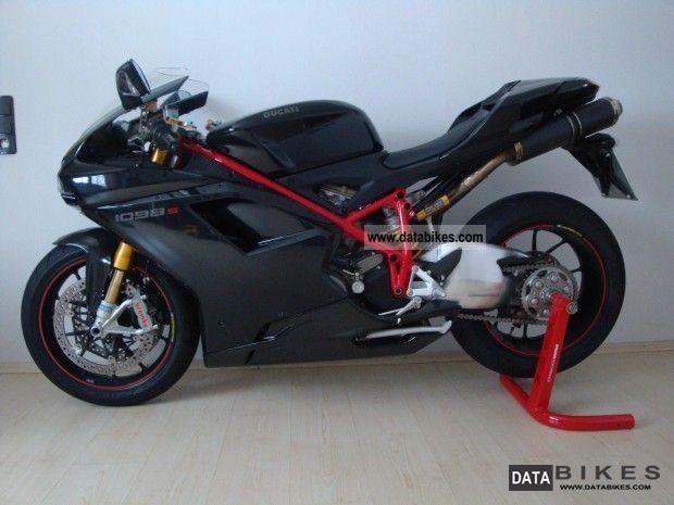 2008 Ducati  Midnight black 1098S Motorcycle Sports/Super Sports Bike photo