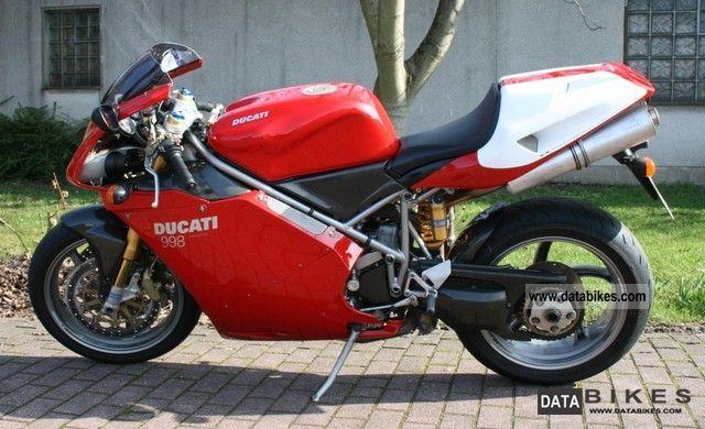 2002 Ducati  998 Motorcycle Sports/Super Sports Bike photo