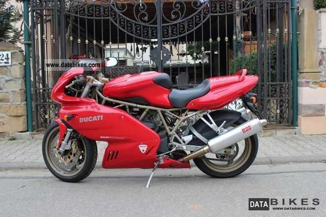 1999 Ducati  Ss 750 ie (fuel injection) Motorcycle Sports/Super Sports Bike photo