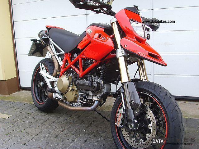 2009 Ducati  Hypermotard 1100S Motorcycle Naked Bike photo
