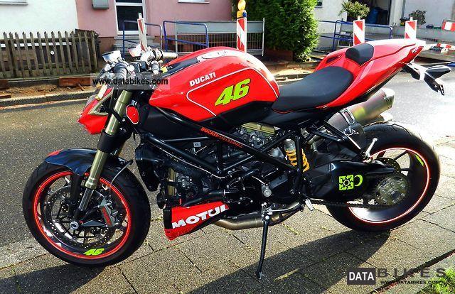 Ducati Streetfighter Incidentata