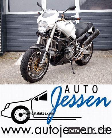 2002 Ducati Monster 900 S4 Many Carbon Fiber Parts