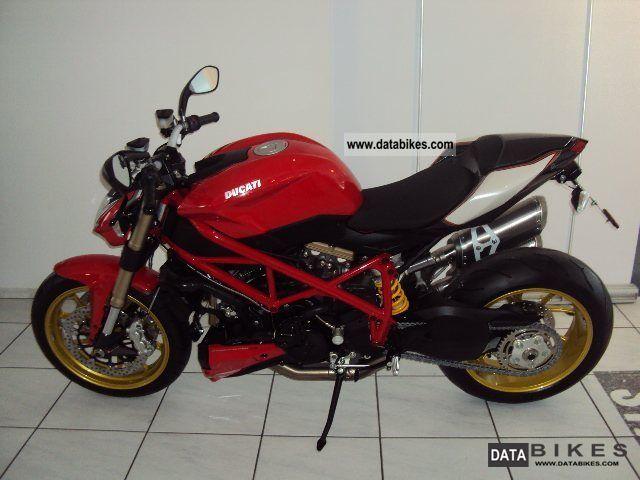 2011 Ducati  Street Fighter 848, customized version Motorcycle Naked Bike photo