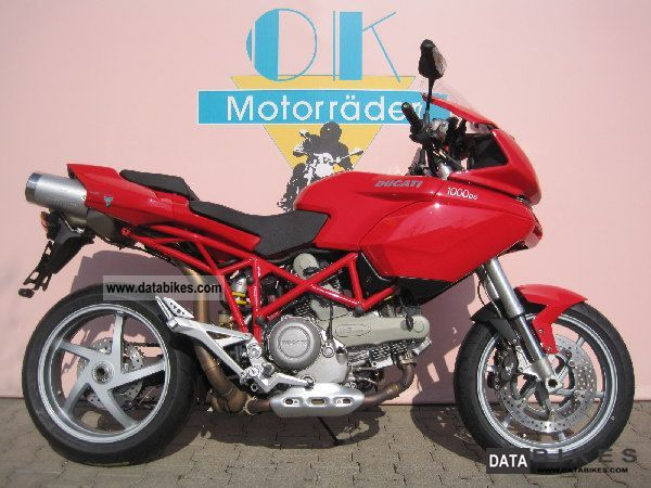 Ducati  MULTISTRADA 1000 DS, New Frosted scheckheft. 2003 Motorcycle photo