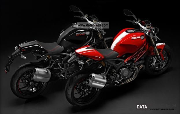 Ducati  Monster 1100 EVO ABS red 2011 Naked Bike photo