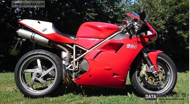 1999 Ducati  996 Monoposto Desmoquattro Motorcycle Sports/Super Sports Bike photo