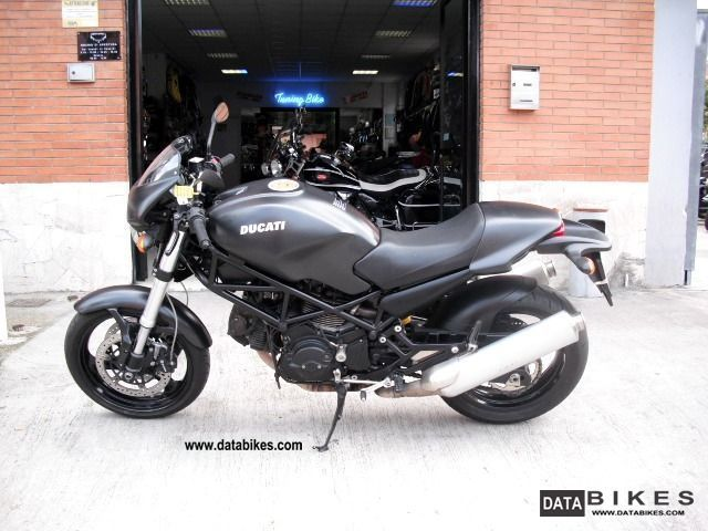 2006 Ducati  MONSTER 695 DARK NERO Motorcycle Naked Bike photo