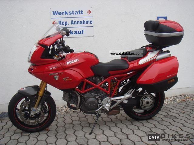 2009 Ducati  Multistrada 1100S Motorcycle Enduro/Touring Enduro photo