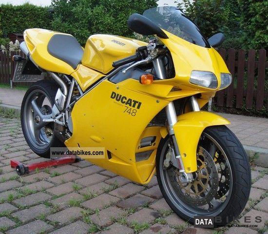 Ducati  748 + seater belt inspection NEW 2002 Sports/Super Sports Bike photo