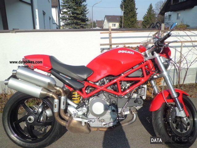 2007 Ducati  Monster Motorcycle Motorcycle photo
