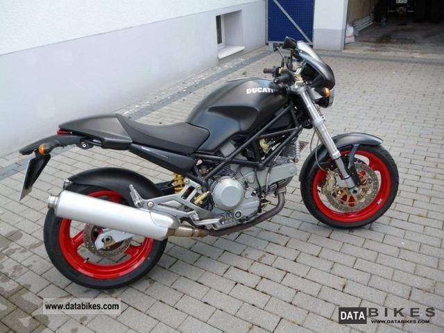 2003 Ducati  900 Monster Dark i.e Motorcycle Naked Bike photo