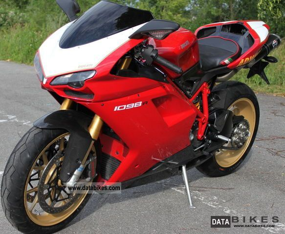 2007 Ducati  1098 s r Motorcycle Sports/Super Sports Bike photo