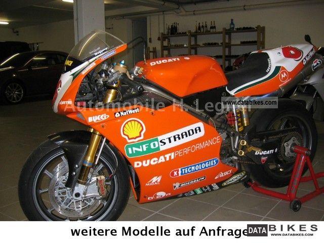 2000 Ducati  2000 996 RS Racing ex Andreas Mecklau Motorcycle Racing photo