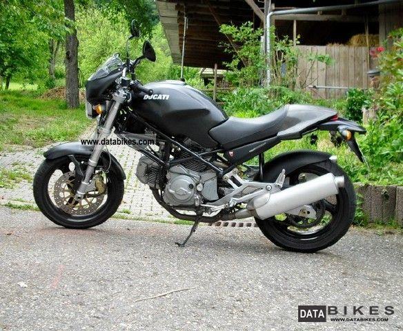 2001 Ducati  M 600 Monster Dark Edition Motorcycle Naked Bike photo