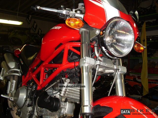 2008 Ducati  MONSTER S2R 1000 CHECKBOOK Motorcycle Streetfighter photo