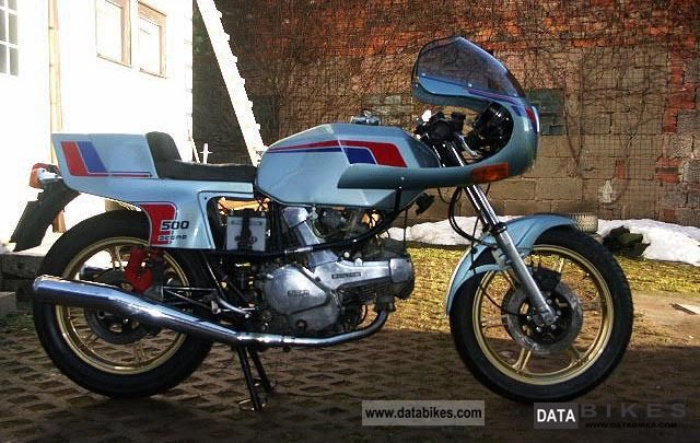 1982 Ducati  Pantah 500/600 Motorcycle Sport Touring Motorcycles photo