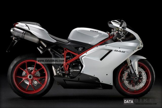 2011 Ducati  Evo 848 - Model 2012 with steering damper Motorcycle Sports/Super Sports Bike photo