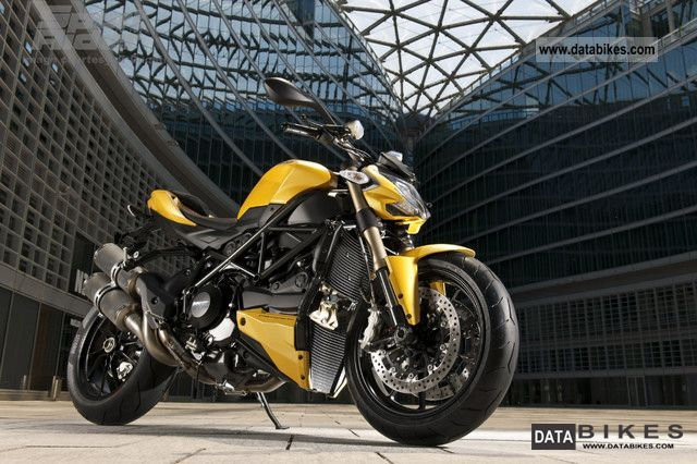 2011 Ducati  STREET FIGHTER 848 - now test drive! Motorcycle Streetfighter photo