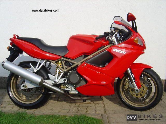 1999 Ducati  ST4 - S.Heft / NEW timing belt / 1.Hd. - Motorcycle Sports/Super Sports Bike photo