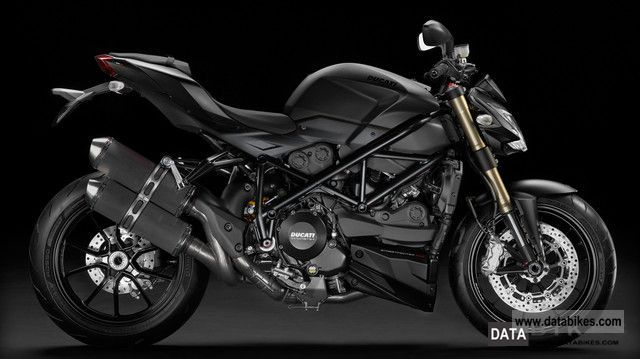 2011 Ducati  Street Fighter 848 Evo Black Motorcycle Streetfighter photo