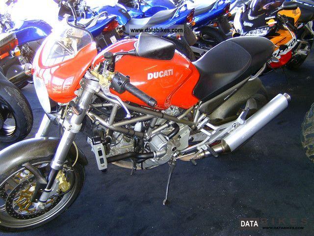 2002 Ducati  Monster 900 S4 Motorcycle Naked Bike photo