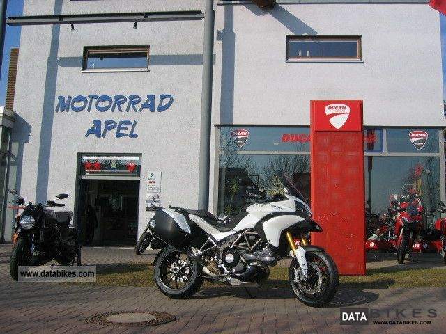 2011 Ducati  Multistrada 1200 ST TRAVEL VOLLAUSSSTATTUNG Motorcycle Tourer photo