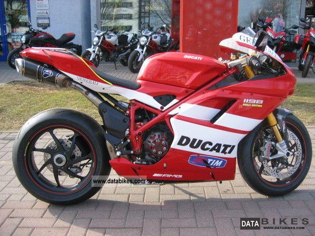 Ducati 1198s Racing Sport Bike: 2011 Ducati VALE 1198 SP