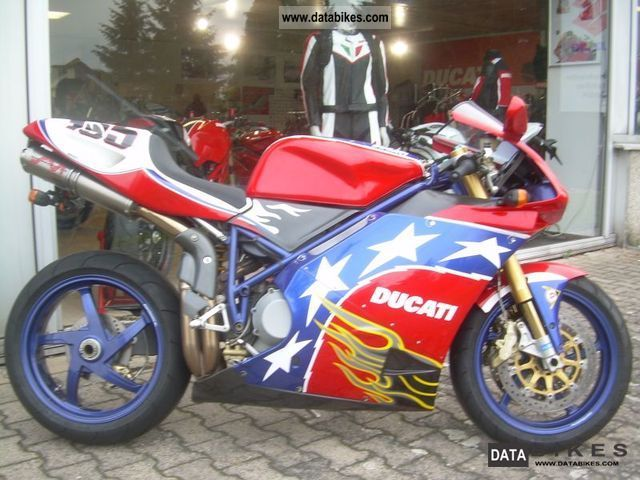 2002 Ducati  998 S \ Motorcycle Sports/Super Sports Bike photo