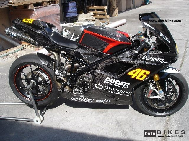 2007 Ducati  1098 s r rs Motorcycle Racing photo