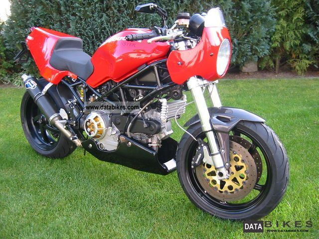 2006 Ducati  Monster S2R 1000ie-Cafe - Racer customized version Motorcycle Motorcycle photo