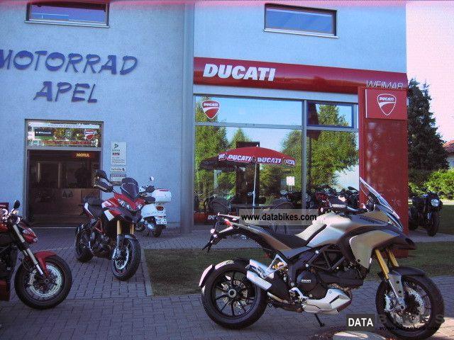 2011 Ducati  Touring Multistrada 1200 S ABS GREY MATT! Motorcycle Enduro/Touring Enduro photo