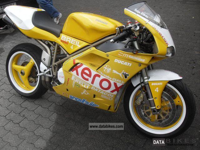1999 Ducati  748sps monoposto Motorcycle Sports/Super Sports Bike photo